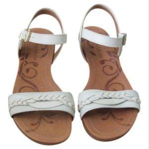 Naturalizer Cream White Marrlowe Sandals